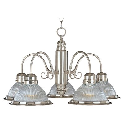 <strong>Maxim Lighting</strong> Builder Basics  5 Light Chandelier