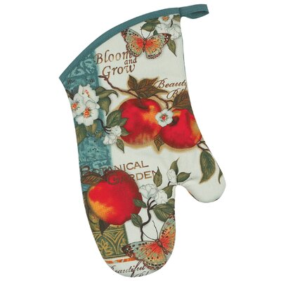 Botanical Apples Oven Mitt