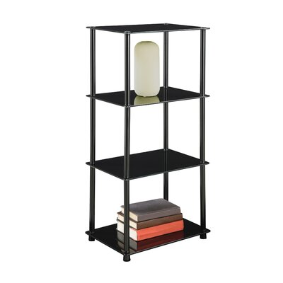 Convenience Concepts Midnight 4 Tier Tower in Black