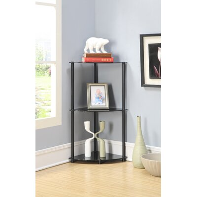 Midnight 3 Tier Corner Shelf