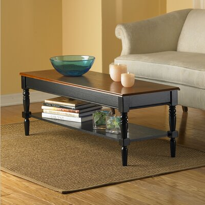 Convenience Concepts French Country Coffee Table with Shelf