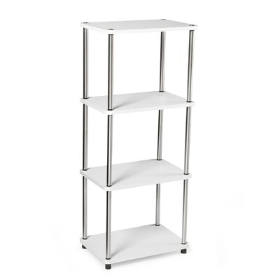 Designs 2 Go 4 Tier Bookshelf in White