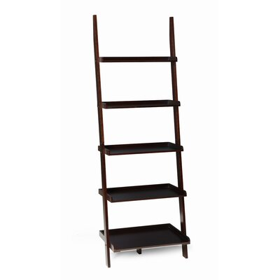 American Heritage Ladder Bookshelf in Espresso