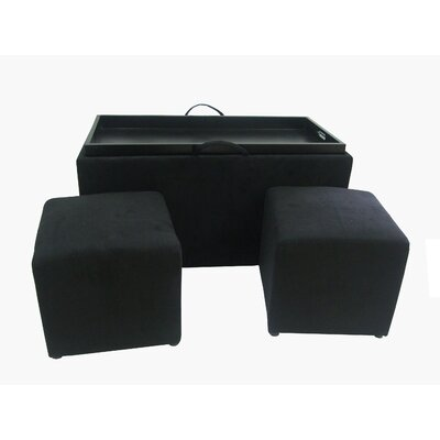 Convenience Concepts Designs4Comfort Bench and Ottoman Set