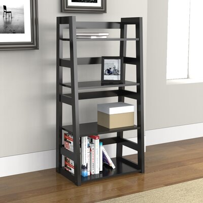 Convenience Concepts 4 Tier Trestle Bookcase