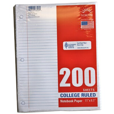 Loose leaf paper college ruled