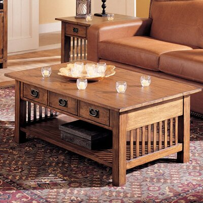 Hammary Canyon Coffee Table