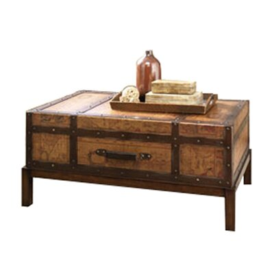 Hammary Hidden Treasures Trunk Coffee Table