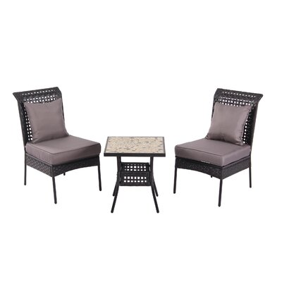 PatioSense Havasu 3 Piece Dining Set
