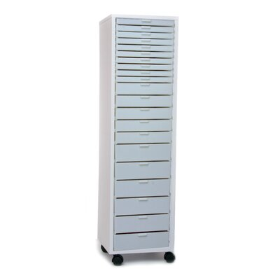 "Best Craft Organizer 14"" Mini Stackable Rolling Cabinet"