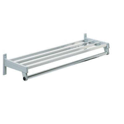 Magnuson Group Hanger Style Coat Rack with Aluminum Shelf Bars