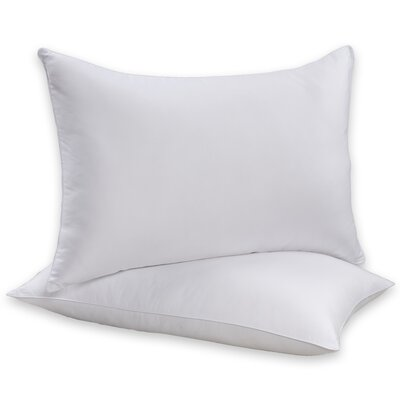 Simmons 100% Cotton Allergen Barrier Pillow (Set of 2)
