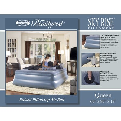 "Simmons Skyrise 19"" Simmons Beautyrest Air Bed"