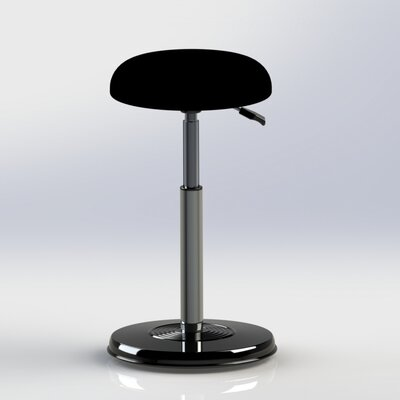 Kore Design Height Adjustable Hi-Rise Chair with Hydraulic Pedestal