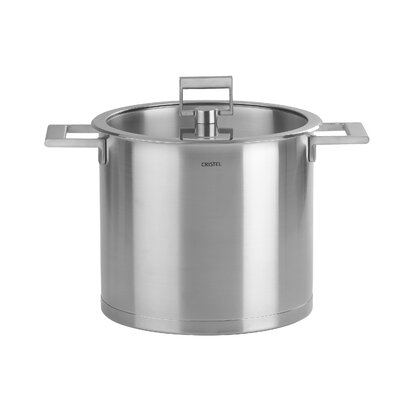 Strate Fixed Handle Stockpot with Lid