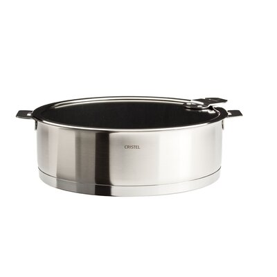Strate Removable Handle Saute Pan with Lid