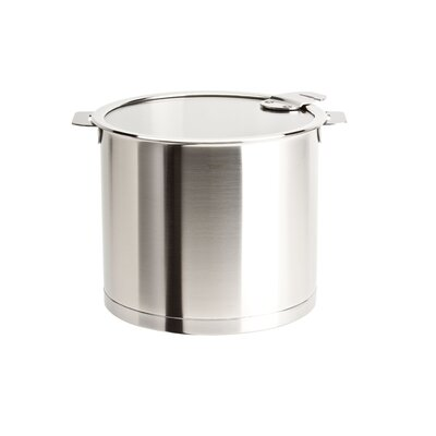Strate Removable Handle Stockpot with Lid