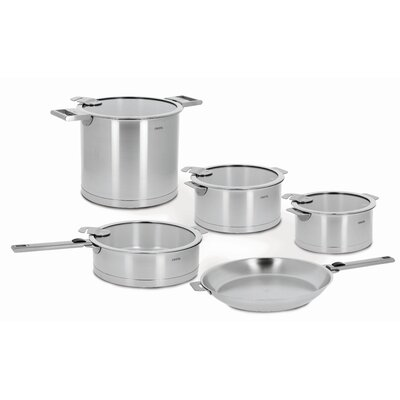 Cristel Strate Removable Handle 13-Piece Cookware Set