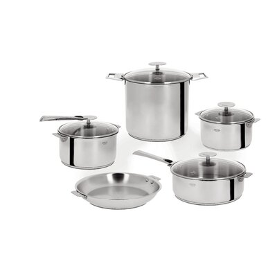 Cristel Casteline Removable Handle 13-Piece Cookware Set