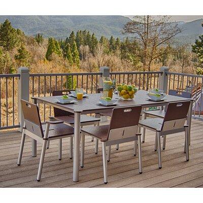 Elan Furniture Bridge II 7 Piece Dining Set