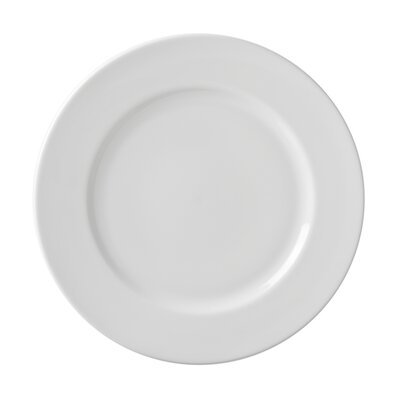"Ten Strawberry Street Classic White 10.25"" Dinner Plate"