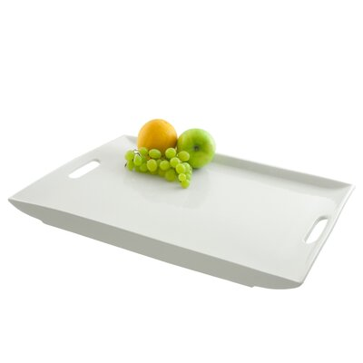 Ten Strawberry Street Rectangular Serving Platter with Handles