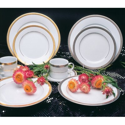 Ten Strawberry Street Studio Ten Luxor Platinum Dinnerware Collection