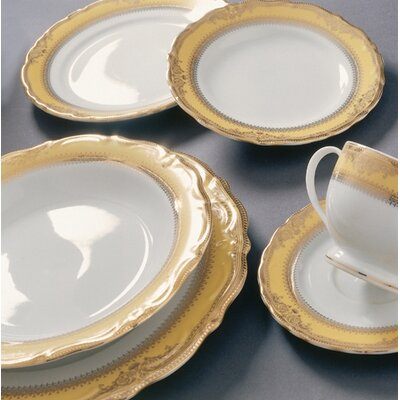Ten Strawberry Street Studio Ten Vanessa Gold Dinnerware Set