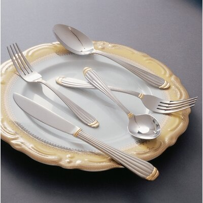 Ten Strawberry Street Parisian Gold Flatware Collection