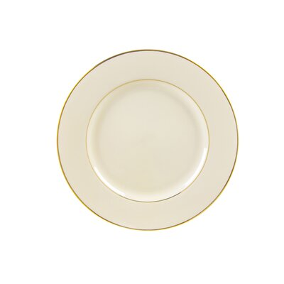 "Ten Strawberry Street Cream Double Gold 7.5"" Salad / Dessert Plate"