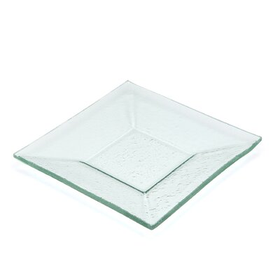 Ten Strawberry Street Sheer Clear Square Plate