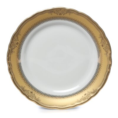 "Ten Strawberry Street Vanessa Gold 7.5"" Salad Plate"