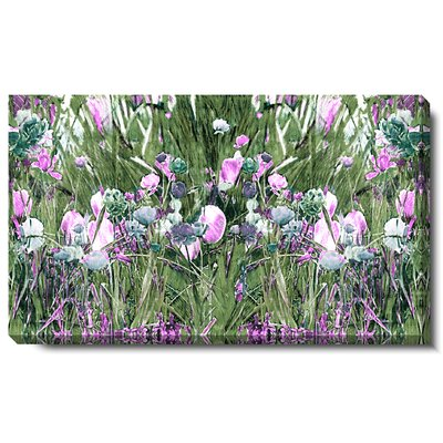 Studio Works Modern Spring Garden Bloom Gallery Wrapped by Zhee Singer Painting Print on Canvas