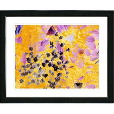 """Studio Works Modern """"Angel of Repose Flower"""" by Zhee Singer Framed Painting Print"""