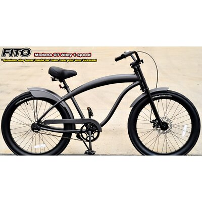 Men's Modena Alloy GT 1-Speed Beach Cruiser Bike
