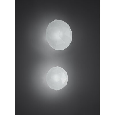 Artemide Soffione 1 Light Wall / Ceiling Scone
