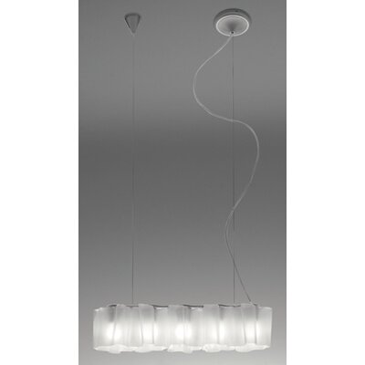 Artemide Logico Nano Quintuple Linear Suspension