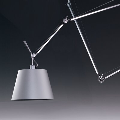 Artemide Tolomeo Off-Center 1 Light Mini Pendant