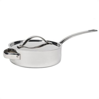 Gordon Ramsay Gordon Ramsay Stainless Steel Cookware Sauté Pan with Lid