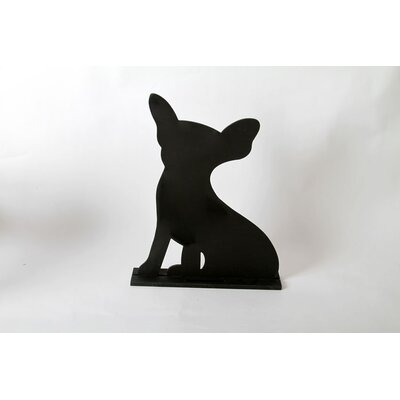 "DEI Unleashed ""Chihuahua"" Dog Silhouette Table Chalkboard"