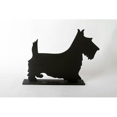"DEI Unleashed ""Terrier"" Dog Silhouette Table Chalkboard"