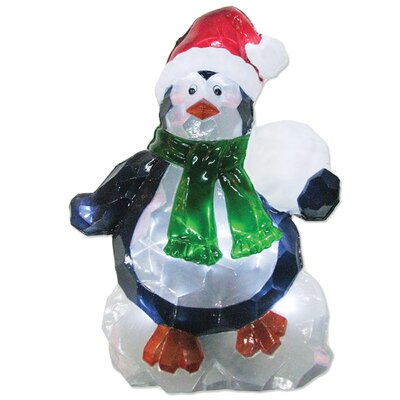 Brite Star LED Icy Penguin Lawn Silhouette