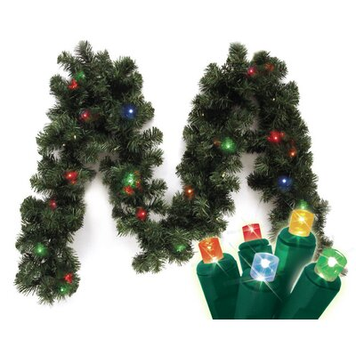 Brite Star Micro Mini 20 LED Light Canadian Pine Branch Garland