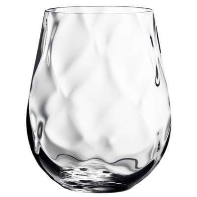 Dizzy Diamond Stemless Wine Glass