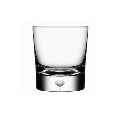 Orrefors Intermezzo Satin Double Old Fashioned Glass