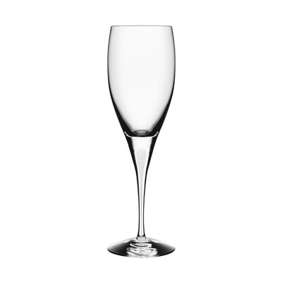 Orrefors Intermezzo Satin White Wine Glass