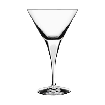 Orrefors Intermezzo Satin Martini Glass