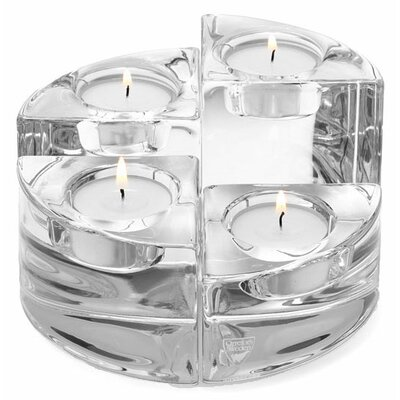 Orrefors Quartet Crystal Votives (Set of 4)