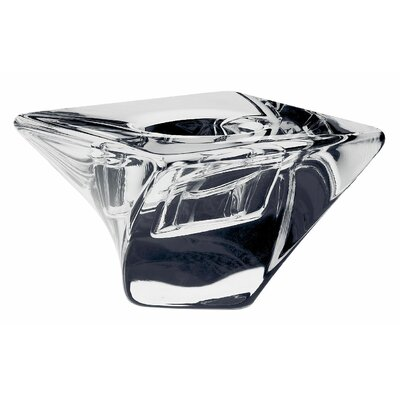 Orrefors Tornado Crystal Tealight Holder