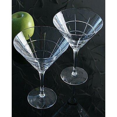 Orrefors Street Martini Glass